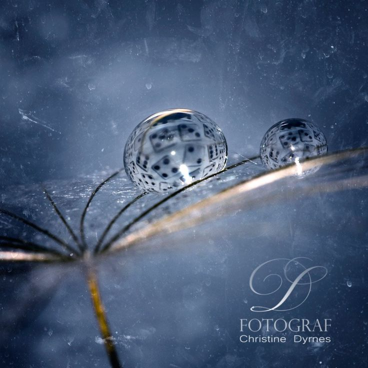Artistic water drop - Cube - Limited edition of  10 copies