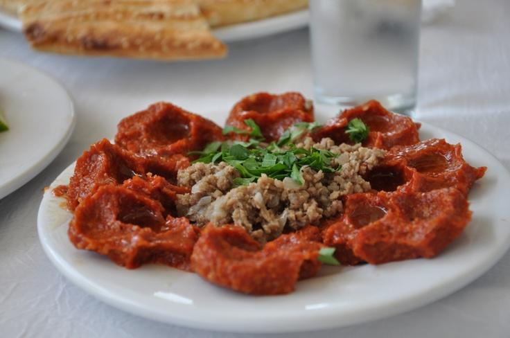 Çiğ köfte is the best from Antakya