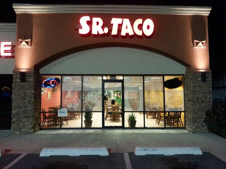 Sr. Taco! Great taco place in San Benito, Texas.  http://www.rgvattractions.com/sr-taco.html