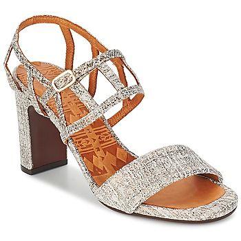 Sandalen / Open schoenen Chie Mihara LUNCH Wit / Brons 259.00 €