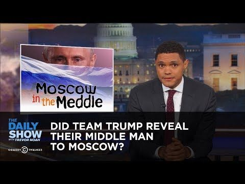 Did Team Trump Reveal Their Middle Man to Moscow?: The Daily Show - YouTube
