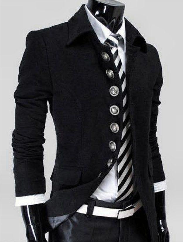 Steampunk Style Mens Jacket 11069526tb Scroll & Read B4 Ordering.