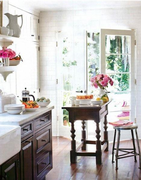 Country Kitchen #kitchen #home