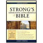Strong's Exhaustive Concordance Bible, $16.99