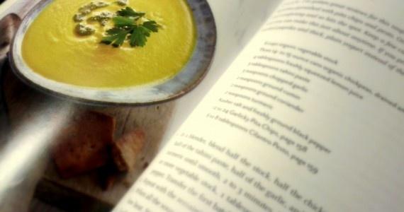 Hummus (Chickpea) Soup #Recipe. #DinnerTonight