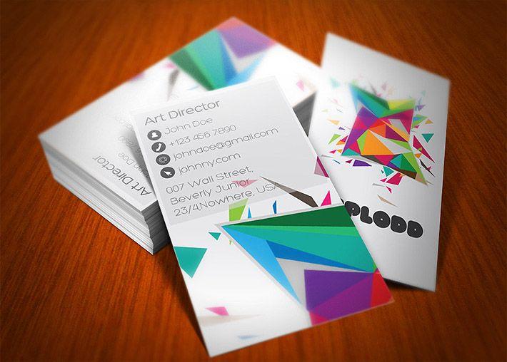 Stilvolle Kreative Visitenkarten Für Immobilienmakler Mit