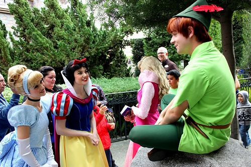 Chatting with the Princesses ディズニー
