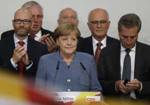 Far-right returns to German parliament for first time in 60 years as Angela Merkel wins 4th term  #germany #angelamerkel #eu