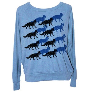 Foxes Raglan Women's