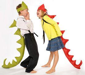 dragon gator Costumes for Kids make of felt
