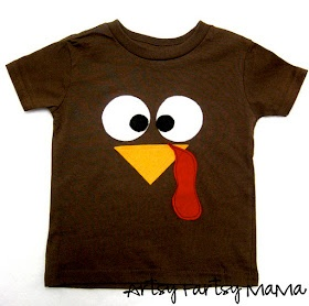 artsy-fartsy mama: Turkey Shirt...For Taggy And Arbor and Phinny