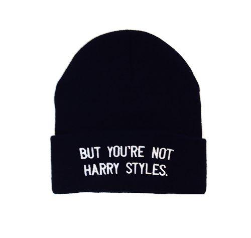 Harry Styles Beanie. Because I'm a dork