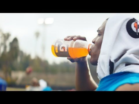 Cam Newton | Sweat Says It All | Gatorade Commercial - YouTube