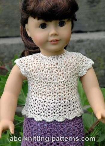 Abc Knitting Patterns For American Doll : Oltre 1000 immagini su Crochet for Dolls su Pinterest Ombelico, Barbie e Ab...