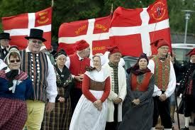 The national costume of Denmark