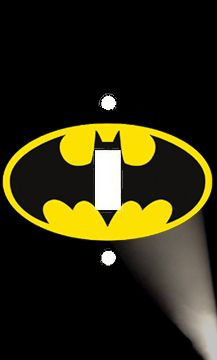Batman Logo Single Light Switch Plate Cover Super Hero Room Decor | eBay