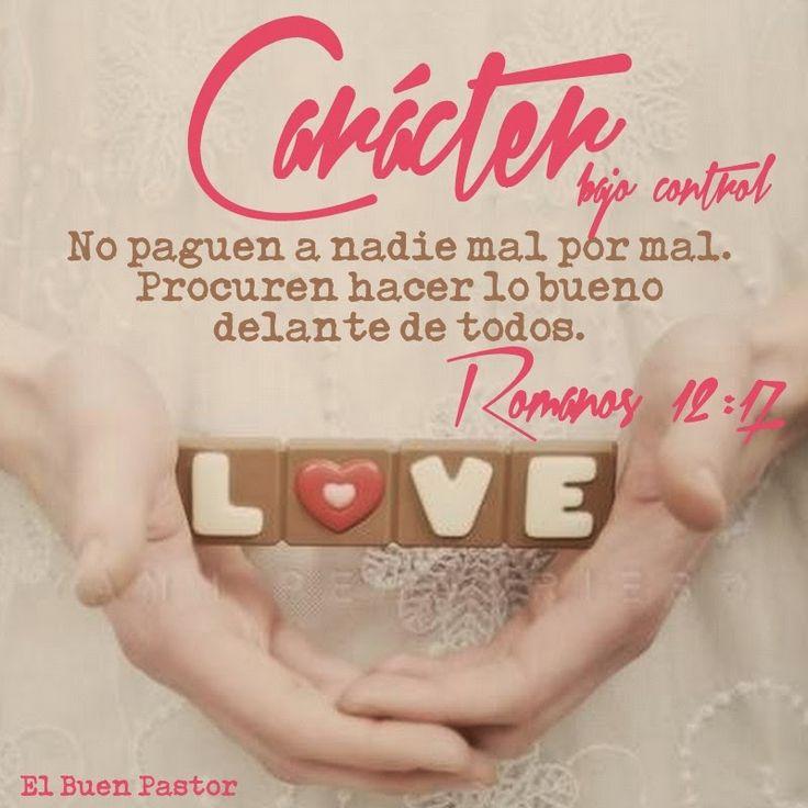 YO SOY EL BUEN PASTOR: Romanos 12:17