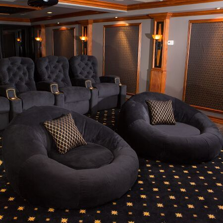 best 25 home theater seating ideas on pinterest. Black Bedroom Furniture Sets. Home Design Ideas