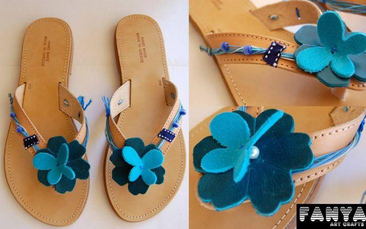 "handmade sandals ""hyacintho"""