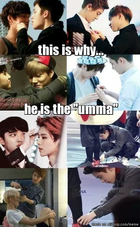 Kyungsoo is the sweetest ...