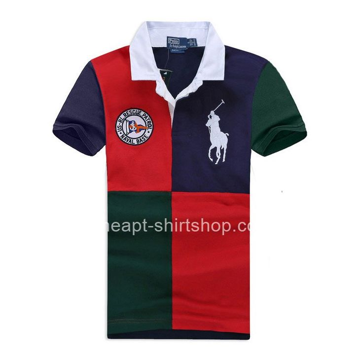Fashion Ralph Lauren Mens Big Pony Polo T-Shirts Cheap