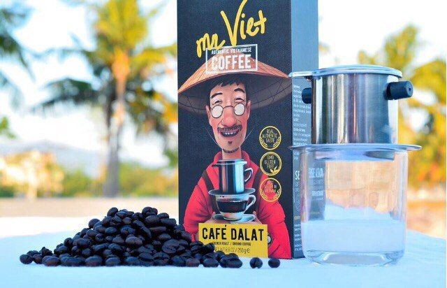 Authentic vietnamese coffee #coffee #coffeelover #dalatcoffee #vietnamesecoffee #arabic #robusta #coffeetime