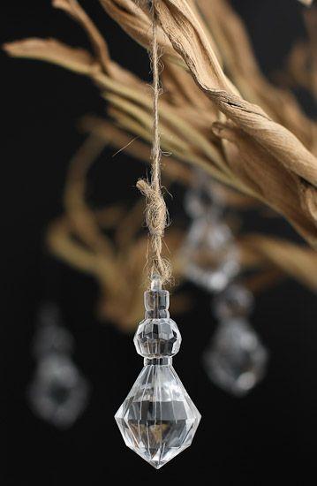 acrylic diamond chandelier crystal gems