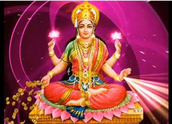 Lakshmi puja and prayers is performed during Diwali, the ...