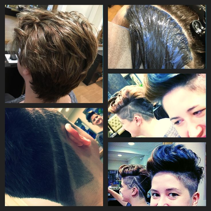 #MatrixGlobal #MatrixColor #SoBoost #BlueHair #HairTattoo #UnderCut #ShortCut #patkospy