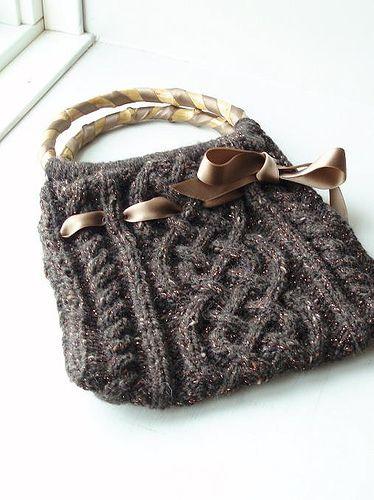 Viking Bag- free knit pattern