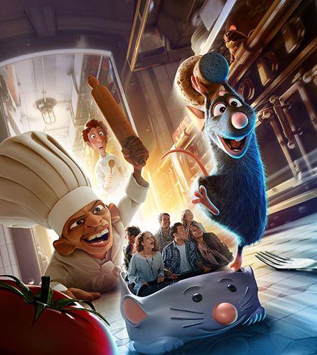 Disneyland Paris commence à communiquer sur l'attraction « Ratatouille : L'Aventure Totalement Toquée de Rémy » qui ouvrira ses portes au Parc Walt Disney Studios en 2014 @Disneyland Paris #DisneylandParis #Ratatouille