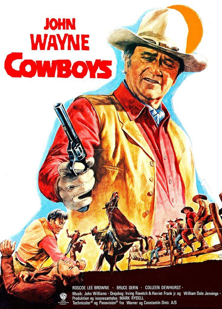 The Cowboys// John Wayne movie