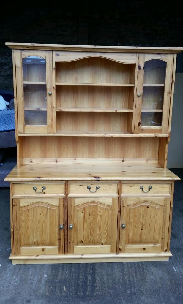 Solid Pine Welsh Dresser on Gumtree. Solid Pine Welsh Dresser for Sale Has some scratches here and there, but nothing noticeable Apar