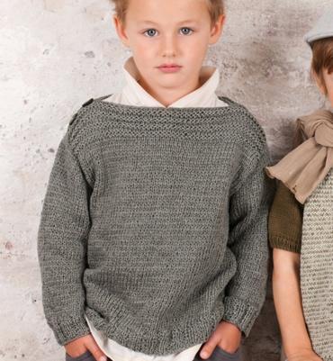 modele tricot pull enfant gratuit