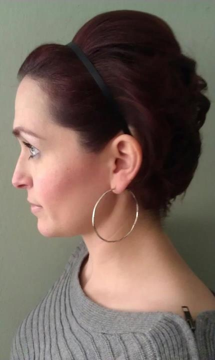 Hairstyles For Short Hair Using Bumpits : ... Hair Styles on Pinterest Rockabilly, Relaxed hairstyles and Vintage