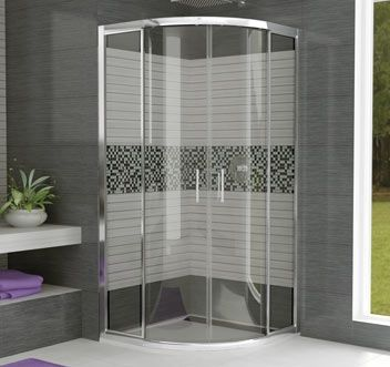 17 best images about douche on pinterest double shower. Black Bedroom Furniture Sets. Home Design Ideas