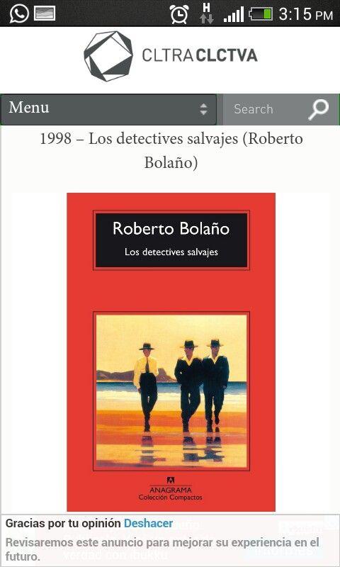 Loa detectives salvajes- Roberto Bolaño