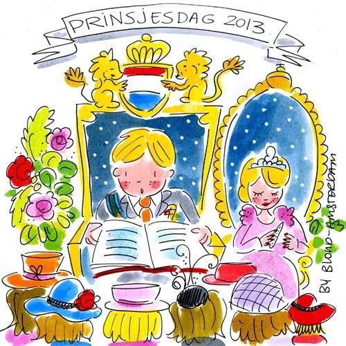 Prinsjesdag 2013 Blond Amsterdam