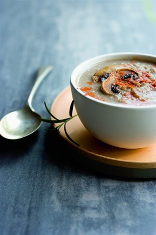 Crème de champignon au paprika - Larousse Cuisine