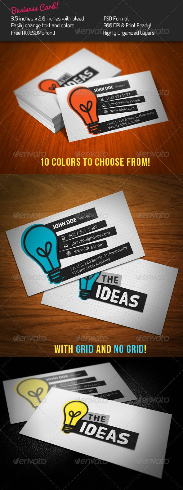 ideas business card - Graphic Design Business Ideas