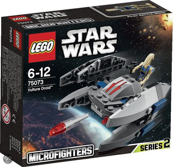 bol.com | LEGO Star Wars Vulture Droid Microfighter - 75073,LEGO | Speelgoed