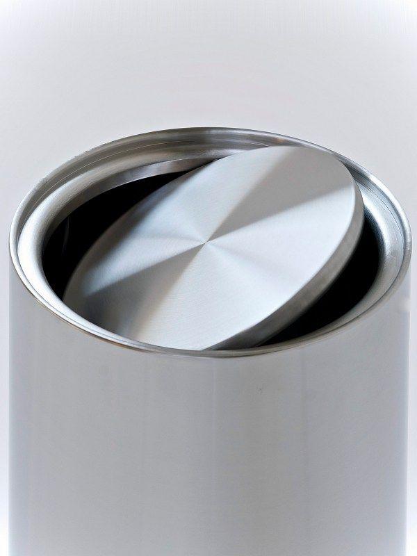 Stainless steel waste bin SWINGING - G-Line Pro by Graepel Italiana