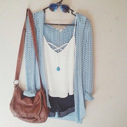 the top is too low but you could wear a cami or a tank top underneath and it would be cute and modest :)