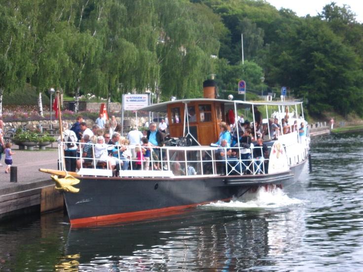 oldest paddleboat....on the Silkeborg river