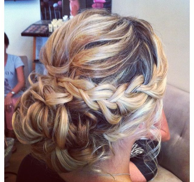 Super 1000 Images About Beauty On Pinterest Updo Braided Updo And Hairstyles For Men Maxibearus