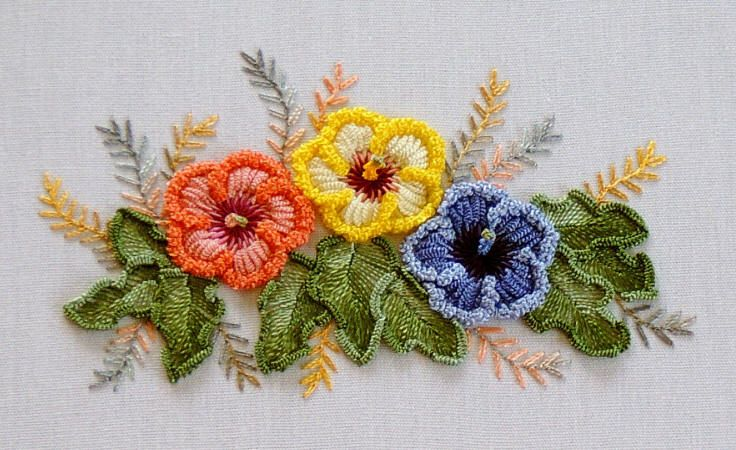Three Dimensional Embroidery