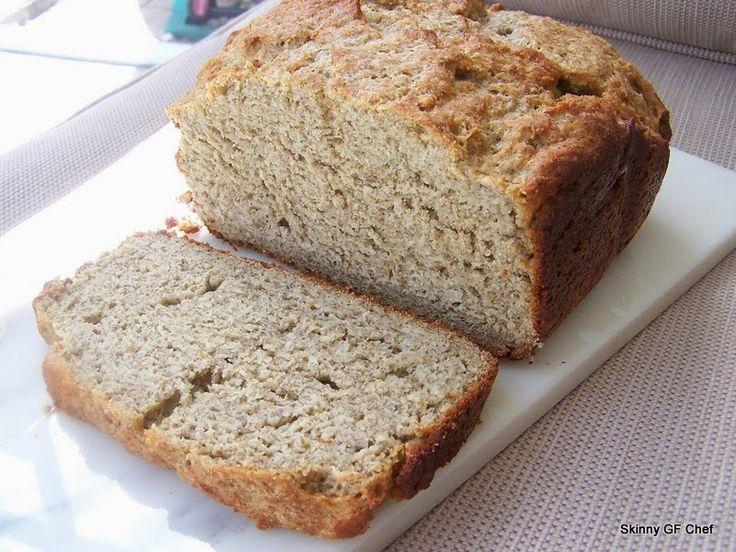 Best Chia Grain Free Bread in the Bread Machine! gluten free   Skinny GF Chef healthy and great tasting gluten free recipes