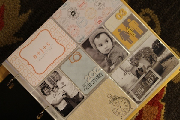 Inspiring Project Life pages :: #scrapbooking