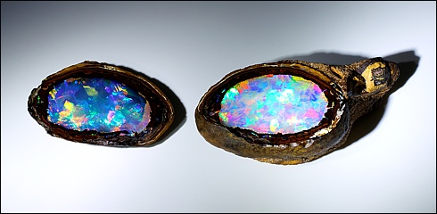 Yowah Nut Opal, from queensland