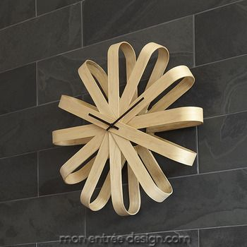 Les 25 meilleures id es concernant horloge originale sur - Horloge murale design italien ...